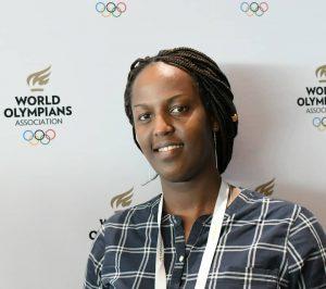 Pamela Girimbabazi, Rwanda Swimming Federation (RSF) President