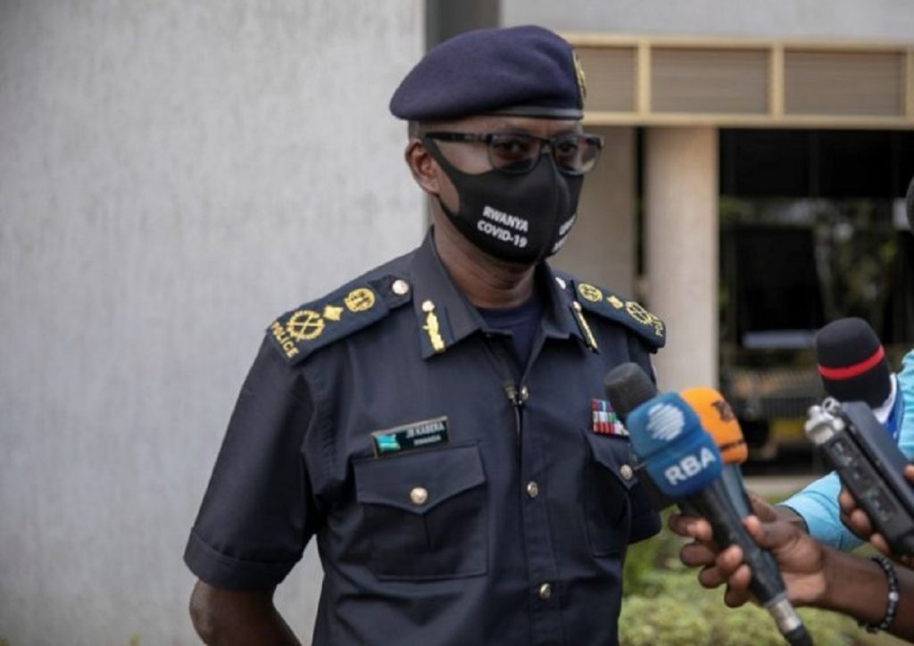 Rwanda National Police spokesperson, Commissioner of Police (CP) John Bosco Kabera.